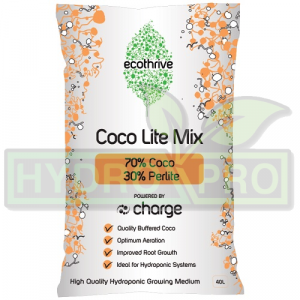 70-30 Ecothrive Coco perlite CHARGED with logo