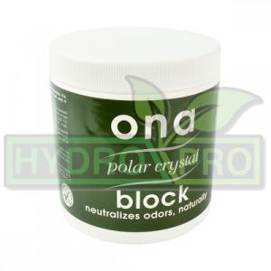 Ona Block Polar Crystal 170g with logo